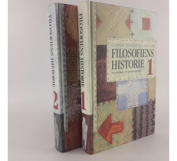 Filosofiens historie: I. Fra Antikken til Oplysningstiden. II. Fra Oplysningstiden til Modernismen