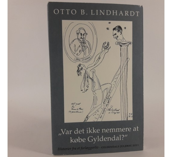 Var det ikke nemmere at købe Gyldendal? af Otto B. Lindhardt
