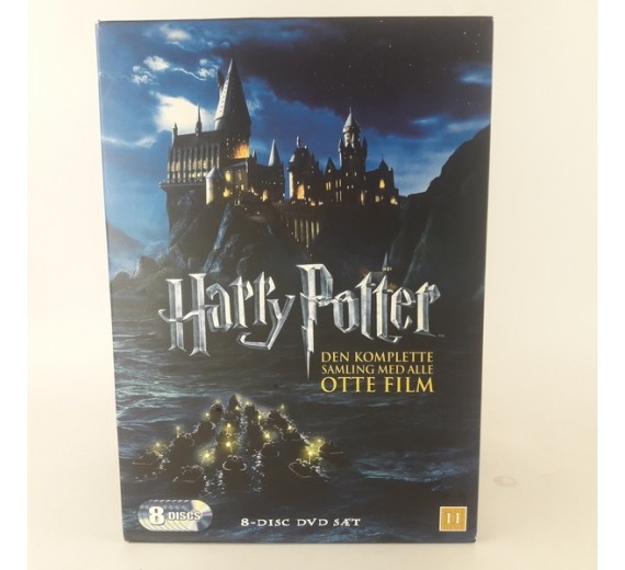 Harry Potter: Den komplette samling (8-pack)
