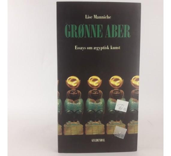 Grønne aber. Essays om ægyptisk kunst af Lise Manniche