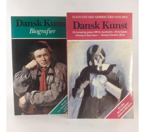 Dansk Kunst - Biografier af Hans Edvard Nørregård-Nielsen