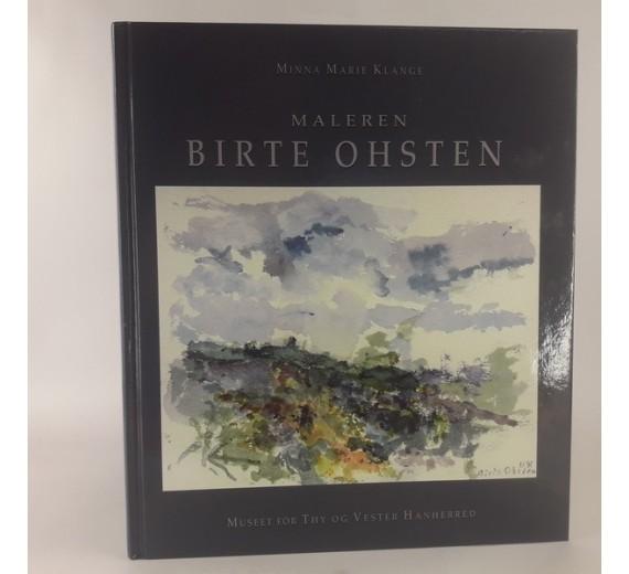 Maleren Birte Ohsten af Minna Marie Klange