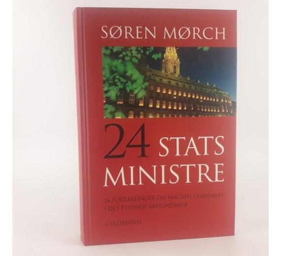 24 statsministre af Søren Mørch