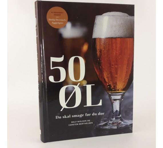 50 øl du skal smage før du dør af Rolf Nielsen og Carsten Berthelsen