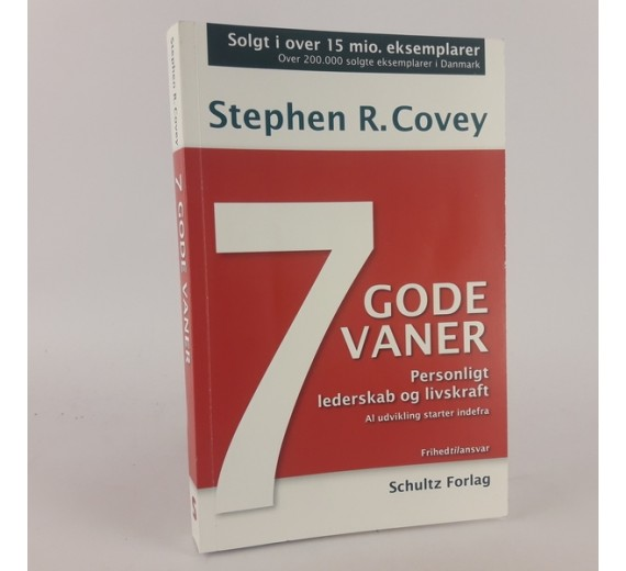 7 gode vaner af Stephen R. Covey
