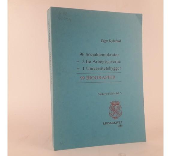 99 biografier af Vagn Dybdahl