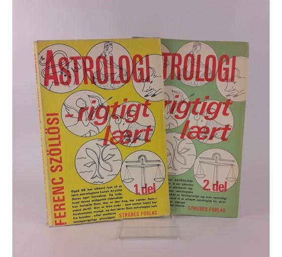 Astrologi rigtigt lært 1 - 2 af Ferenc Szöllösi