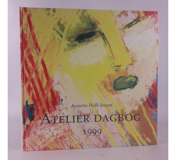 Atelier dagbog af Annette Hoff Jessen