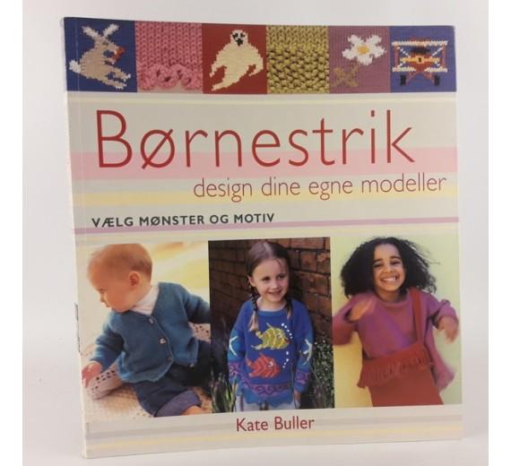 Børnestrik - design dine egne modeller af Kate Buller