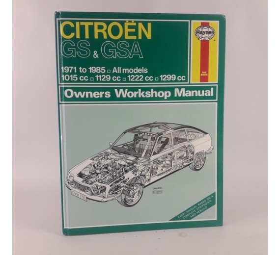 Citroen GS & GSA 1971 to 1985 - Bogzonen.dk
