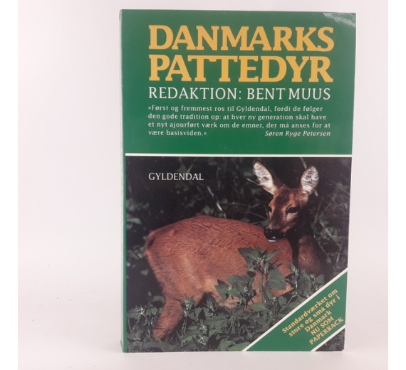 Danmarks Pattedyr af Bent Muus