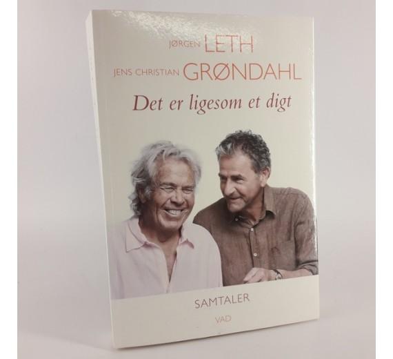 Det er ligesom et digt. Samtaler af Jørgen Leth & Jens Christian Grøndahl