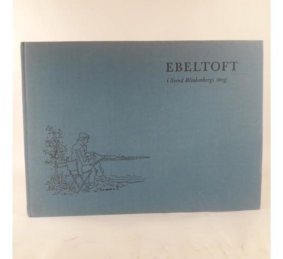 Ebeltoft i Svend Blinkenbergs streg af Svend Mathiassen