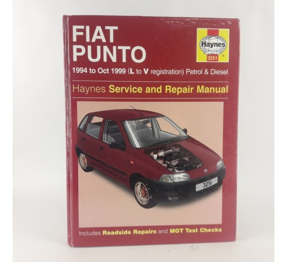 Fiat Punto 1994 to Oct 1999 (L to V registration) Petrol & Diesel