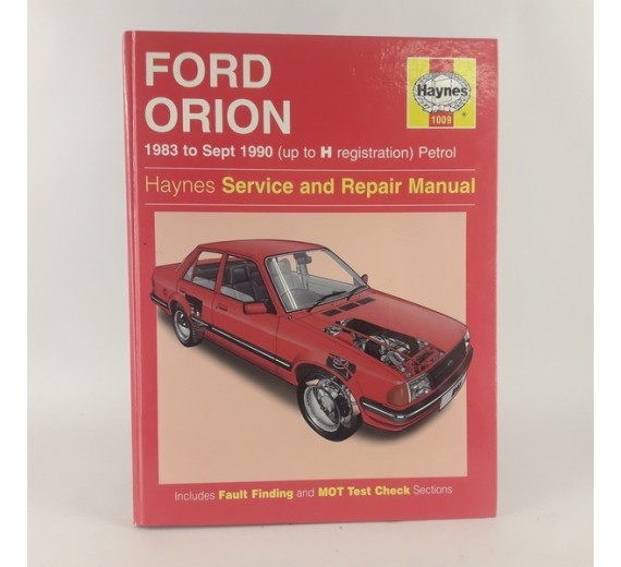 Ford Orion 1983 to sept. 1990 (Up to H registration) Petrol
