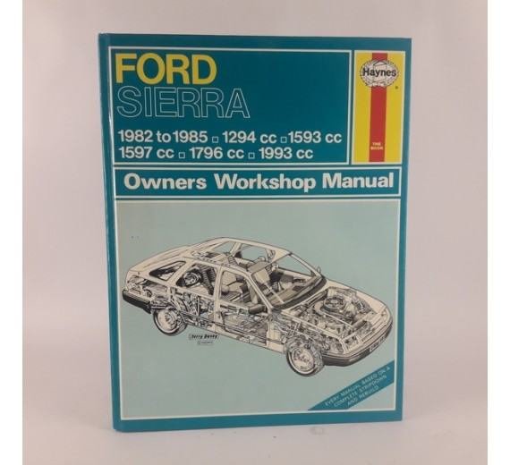 Ford Sierra 1982-1985 owners workshop manual