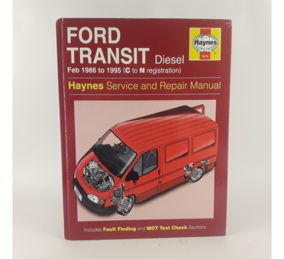 Ford Transit Diesel. Feb 1986 to 1995 (C to N registration)