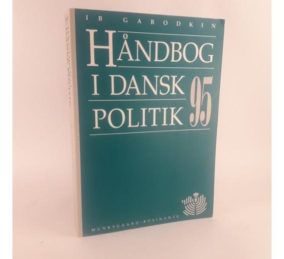 Dansk håndbog i politik 1995 af Ib Garodkin