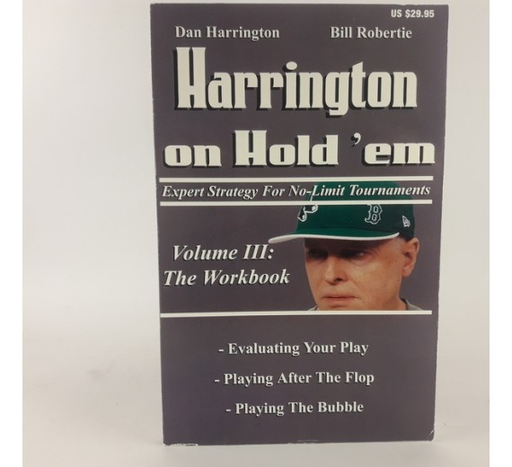 Harrington on Hold'em af Dan Harrington