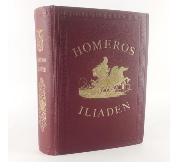Homeros Iliaden. oversat af M. CL. Gertz.
