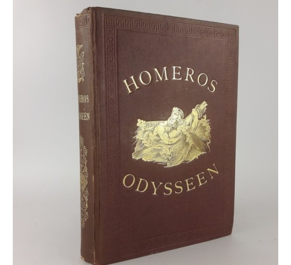 Homeros Odysseen, Overs. af Christian Wilster.