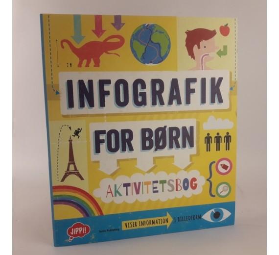 Infografik for børn - aktivitetsbog