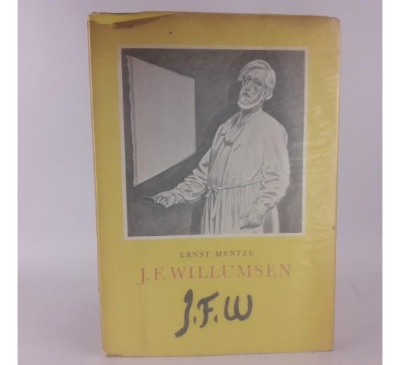 J. F. Willumsen af Ernst Mentze