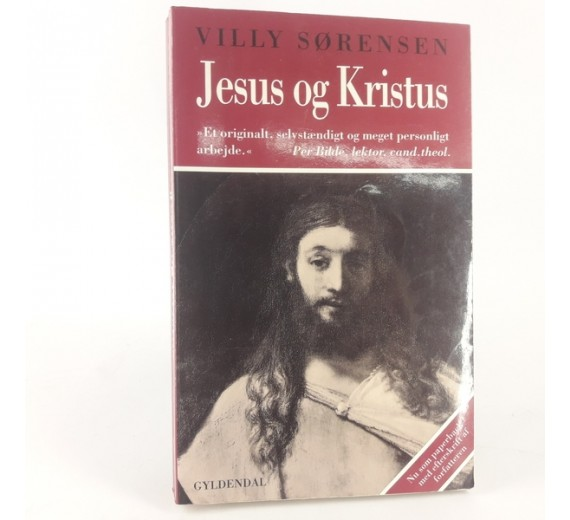Jesus og Kristus af Villy Sørensen