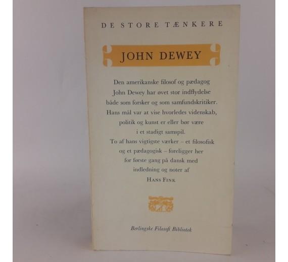 John Dewey - de store tænkere