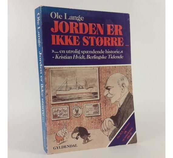 Jorden er ikke større af Ole Lange