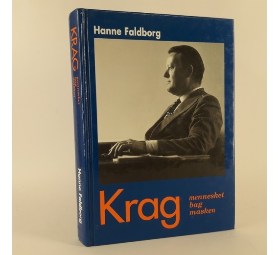 Krag - mennesket bag masken skrevet af Hanne Faldborg