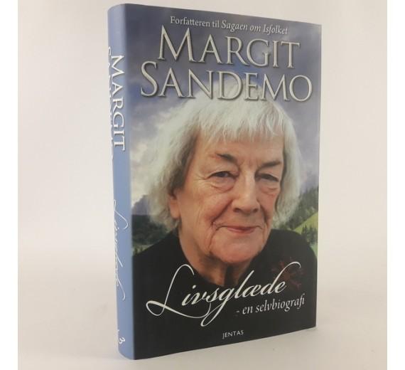 Livsglæde - en selvbiografi af Margit Sandemo