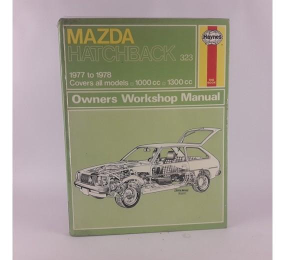 Mazda hatchback 1977-1978 owernes workshop manual