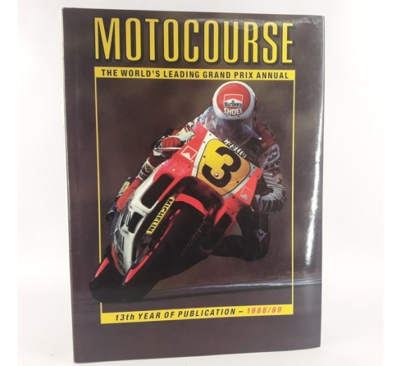 Motocourse 1988-89 by Peter Clifford