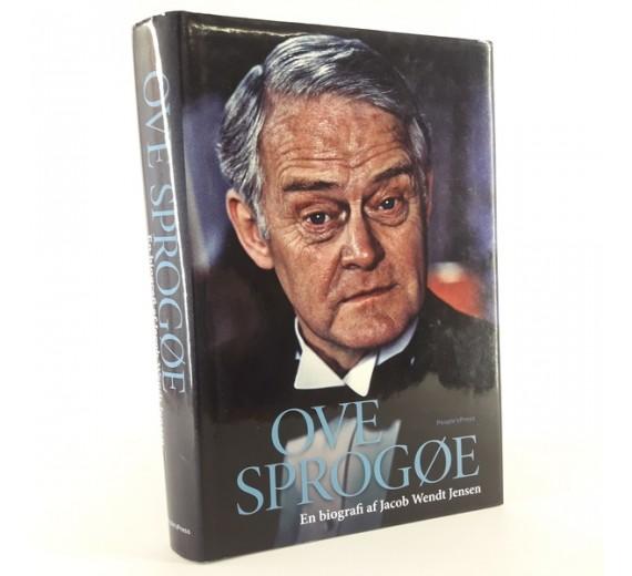 Ove Sprogøe.- en biografi skrevet af Jacob Wendt Jensen