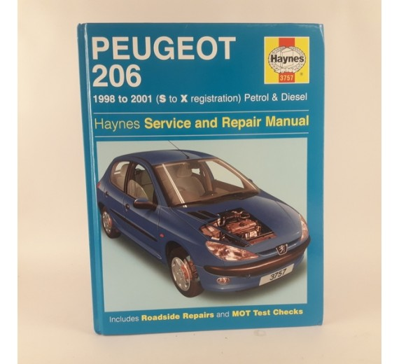 Peugeot 206 - 1998 to 2001 (S to X registration) Petrol & Diesel