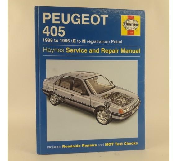 Haynes Peugeot 406 - 1988 to 1996 (E to N registration) Petrol