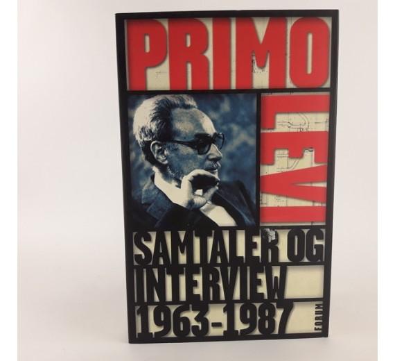 Samtaler og interview 1963-1987 af Primo Levi
