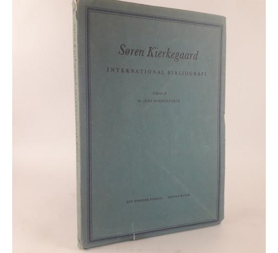 Søren Kierkegaard International bibliografi af Jens Himmelstrup.