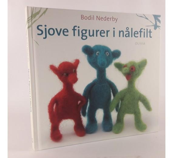 Sjove figurer i nålefilt skrevet af Bodil Nederby