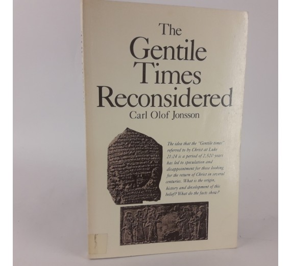 The gentile times reconsidered af carl olof jonsson