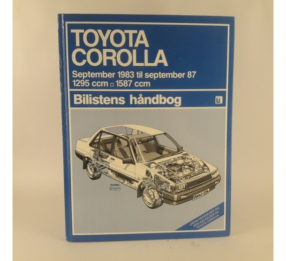 Toyota Corolla september 1983 til september 1987