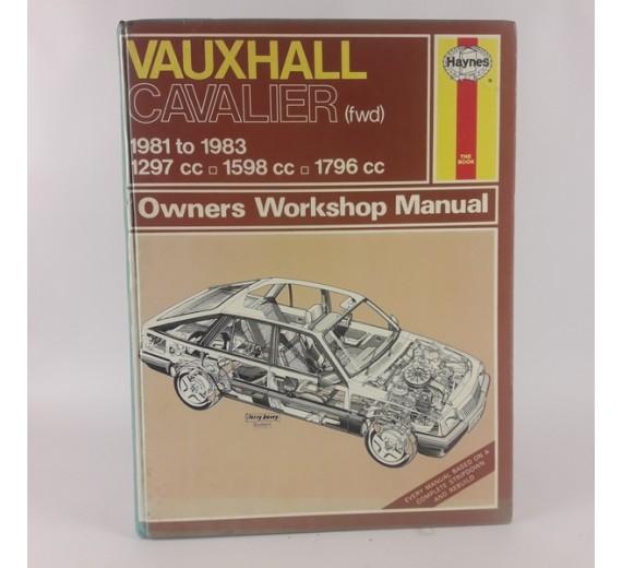 Vauxhall Cavalier (fwd) 1981 to Sept 1986