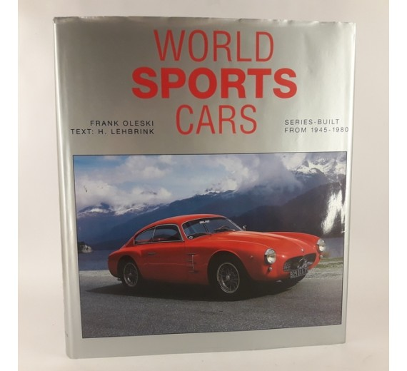 World Sports Cars 1945-1980 Text is Free of Markings Edition af Frank Oleski