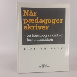 NrpdagogerskriverenhndbogiskriftligkommunikationafKirstenRask-20