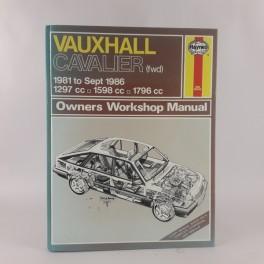 VauxhallCavalierPetrol1981toOctober19881297cc1598cc1796cc1998cc-20